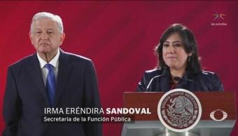 Foto: AMLO Funcionarios Hacer Pública Declaración 12 de Febrero 2019