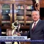 AMLO ya es embajador mundial del béisbol