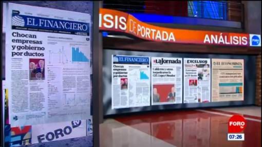 Análisis de las portadas nacionales e internacionales del 12 de febrero del 2019
