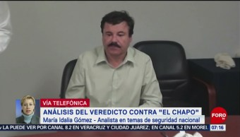 Foto: Análisis del veredicto sobre 'El Chapo' Guzmán