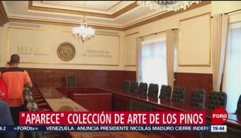 Foto: 'Aparecen' Obras De Arte Los Pinos 21 de Febrero 2019