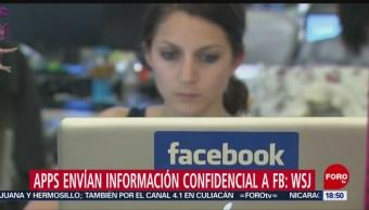Foto: Apps envían información confidencial a Facebook: WSJ