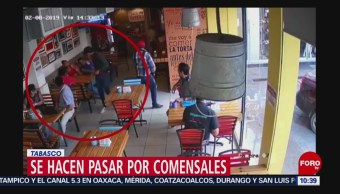 Asaltan local de comida en Villahermosa, Tabasco