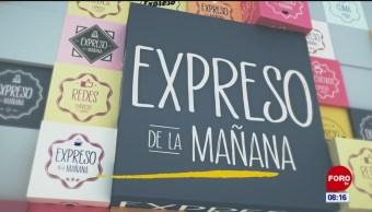 Así arranca Expreso de la Mañana con Esteban Arce del 12 de febrero del 2019