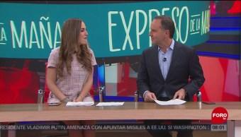 Así arranca Expreso de la Mañana con Esteban Arce del 20 de febrero del 2019