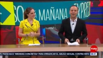 Así arranca Expreso de la Mañana con Esteban Arce del 21 de febrero del 2019