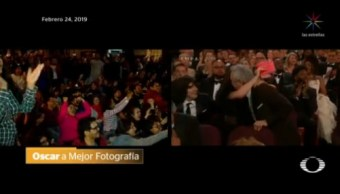 Foto: Festejó México Triunfo Roma Oscar 25 de Febrero 2019