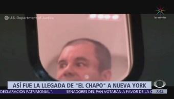"""Así fue como """"El Chapo"""" llegó a Estados Unidos en 2017"""