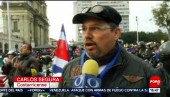 FOTO: Así fue la manifestación a favor de Guaidó en Venezuela, 3 febrero 2019