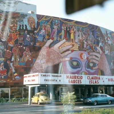 Así se veía la Ciudad de México en los años 70