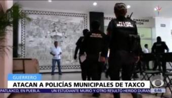 Ataque contra policías en Taxco, Guerrero