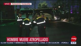 Foto: Atropellan Hombre Paradero Taxqueña 18 de Febrero 2019