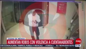 Foto: Asaltos Cuentahabientes CDMX Bancos 21 de Febrero 2019
