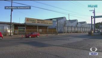 Foto: Aumentan seguridad en refinería de Salamanca tras encontrar artefacto explosivo