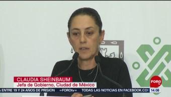FOTO: Bajan homicidios en la Ciudad de México, dice Sheinbaum, 16 febrero 2019
