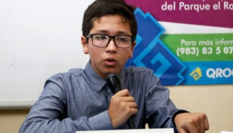 Foto: Benjamín Abraham Maldonado, a los 14 años, concluye la preparatoria, y busca continuar con sus estudios en la UNAM, 23 febrero 2019