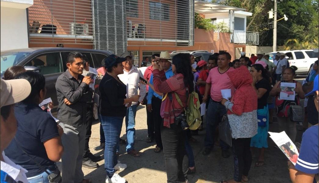 Foto: Búsqueda de activistas desaparecidos en Guerrero, 14 de febrero 2019. Twitter @ONUDHmexico