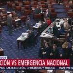Foto: Cámara baja bloquea emergencia nacional de Trump