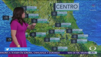 Clima Al Aire: Prevén ambiente caluroso en el Valle de México