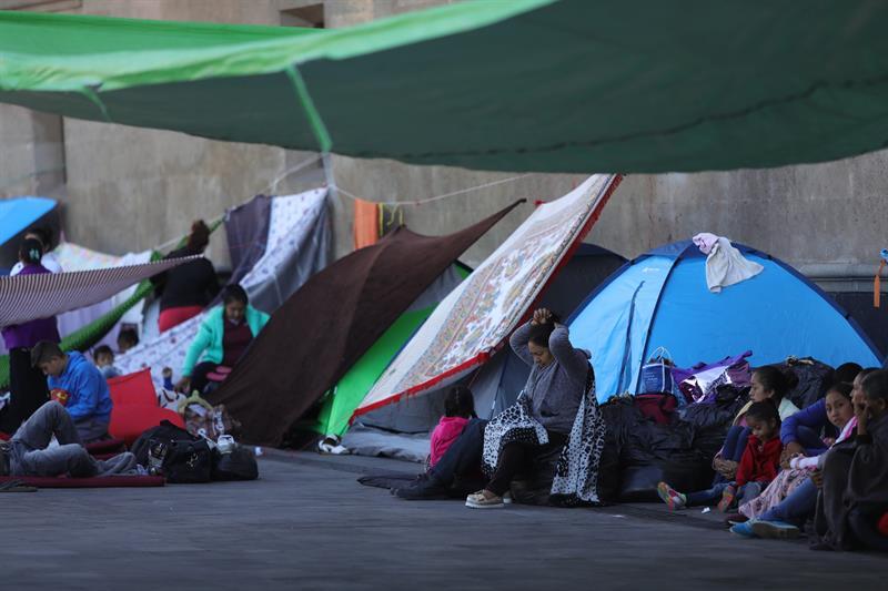 Foto: CNDH pide a autoridades ayudar a desplazados de Guerrero 22 febrero 2019