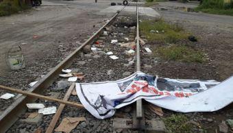Foto: CNTE retira bloqueo de las vías del tren en Michoacán, 3 febrero 2019