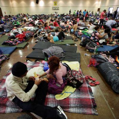 Buscan 2 mil migrantes en Coahuila visa humanitaria de Estados Unidos