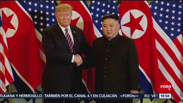 Foto: Cumbre Trump Kim Jong-Un 28 de Febrero 2019