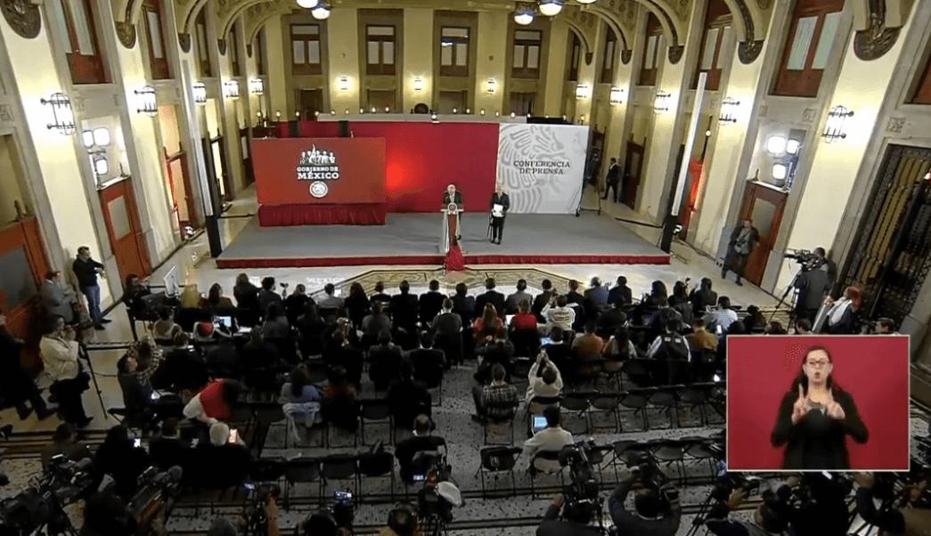 FOTO Conferencia de Prensa AMLO 19 febrero 2019 YouTube/AMLO cdmx