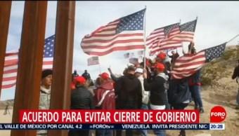 Foto: Congreso EEUU Acuerdo Cierre Gobierno 14 de Febrero 2019