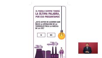 Foto: Difunden boleta para consulta sobre termoeléctrica en Morelos, 8 de febrero 2019, CDMX