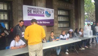 Foto: Se desarrolla la consulta ciudadana sobre termoeléctrica de Huexca, 23 febrero 2019