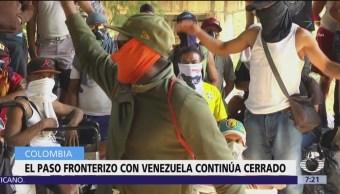 Continúa la tensión en frontera Colombia-Venezuela