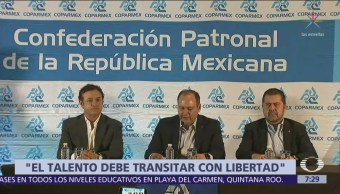 Foto: Coparmex reprueba que el Gobierno federal lance acusaciones sin pruebas