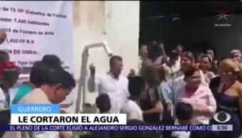 Cortan el agua a alcaldesa de Acapulco, Guerrero