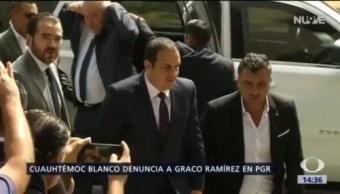 Foto: Cuauhtémoc Blanco Denuncia Graco Ramírez 13 de Febrero 2019