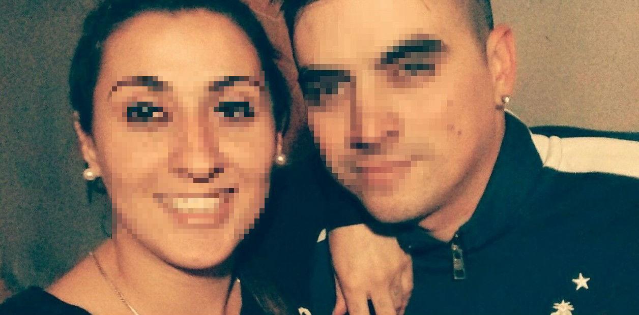 Daiana Devuono y Sebastián Vedoya en una fotografía de redes sociales (Telam)