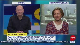 Dan un mes a abogado de 'El Chapo' para solicitar repetición del juicio