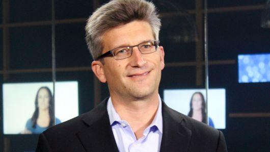 David Wehner, CFO de Facebook, en entrevista con CNBC (CNBC Derechos Reservados)