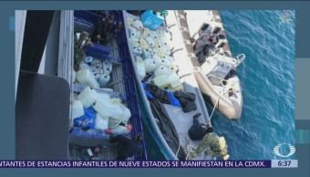 Decomisan 350 litros de gasolina robada en Huatulco