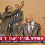 Defensa de 'El Chapo' considera que se podría repetir juicio