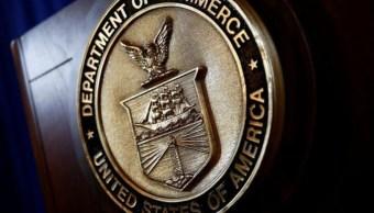 Foto: El sello del Departamento de Comercio de Estados Unidos en Washington, Estados Unidos, 7 de marzo de 2017 (Reuters)
