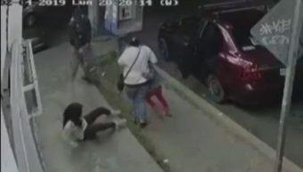 Foto: Disparan a mujer y niña para robo de auto en Ecatepec 5 febrero 2019