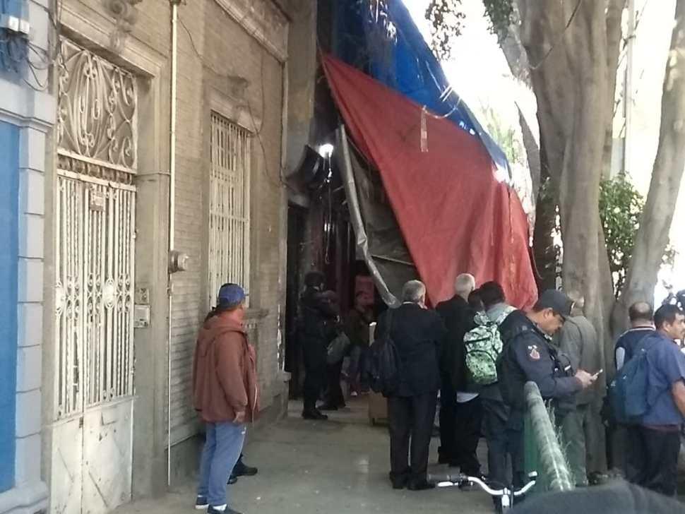 Foto: Desalojan inmueble en la colonia Roma, CDMX