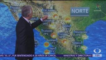 Despierta Con Tiempo: Altas temperaturas en gran parte del país
