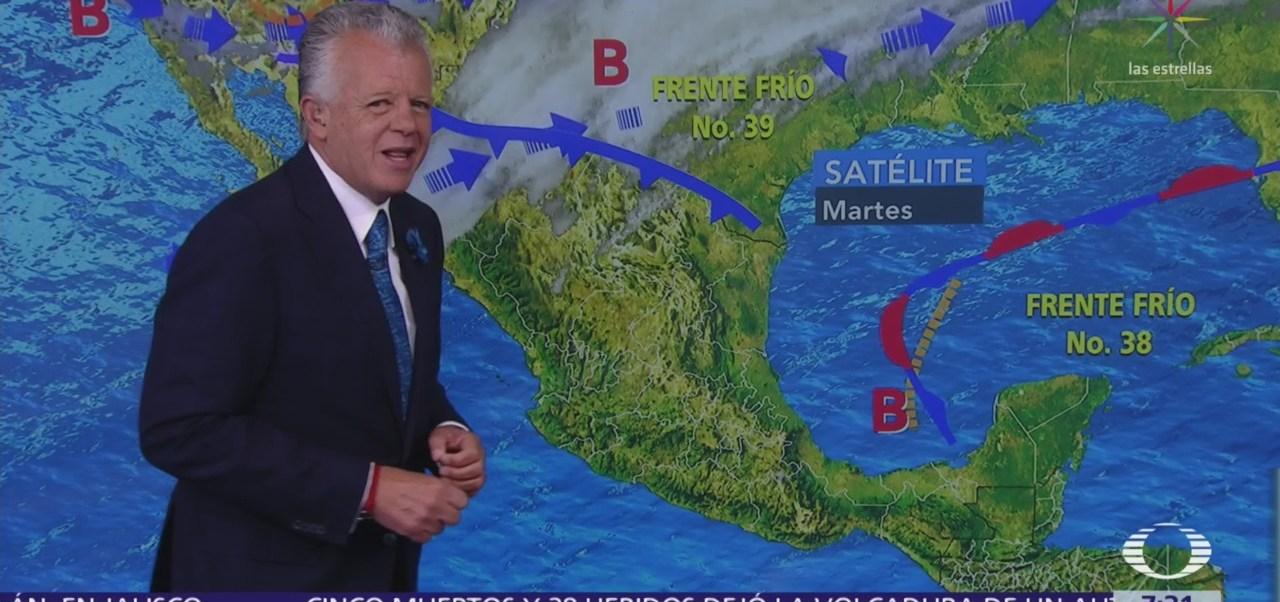Despierta Con Tiempo: Caída de agua nueve en Chihuahua
