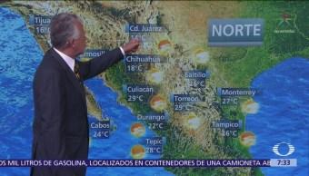 Despierta con Tiempo: Lluvias en el norte de México