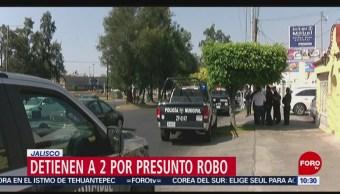 Detienen a dos colombianos en Zapopan, Jalisco