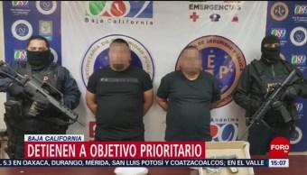FOTO: Detienen a objetivo prioritario en Baja California, 16 febrero 2019