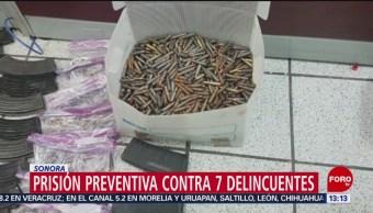Foto: Dictan prisión preventiva contra delincuentes en Sonora