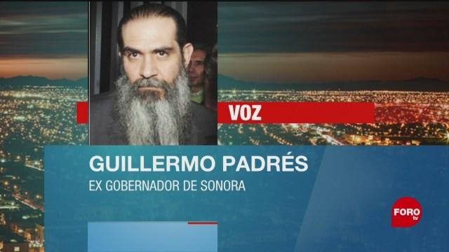 FOTO: Difunden audio de Guillermo Padrés, exgobernador de Sonora, 3 febrero 2019